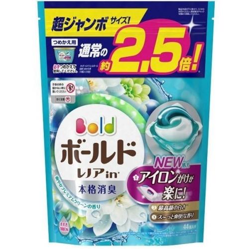 ボールド ジェルボール3D 爽やかプレミアムクリーンの香り つめかえ用 超ジャンボ 44個入×8個※取り寄せ商品(注文確定後6-20日頂きます) 返品不可