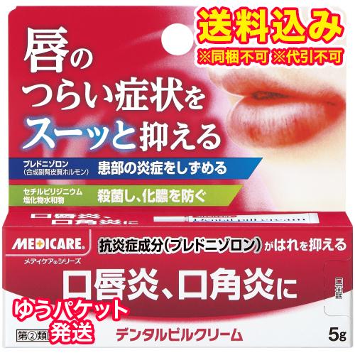 ゆうパケット)【第(2)類医薬品】メディケア デンタルピルクリーム 5g