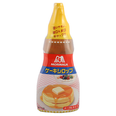 森永 ケーキシロップ メープルタイプ 200g