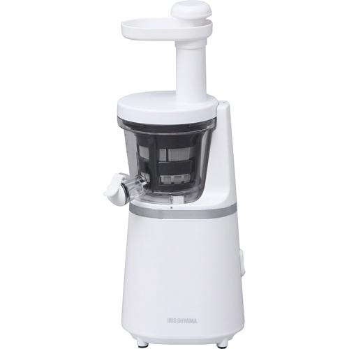 アイリスオーヤマ スロージューサー ISJ-56-W ホワイト※取り寄せ商品(注文確定後6-20日頂きます) 返品不可