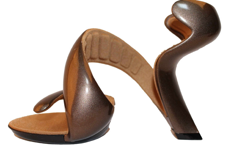 新品 ジュリアンヘイクス モヒート Taupe/Bronze 37(24.0cm~24.5cm) No.14072400