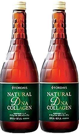 2本 甘さ控えめNEW フォーデイズ 核酸ドリンク ナチュラル DN コラーゲン 新製品  2本(720ml×2)送料無料 SALE セール FORDAYS  賞味期限まで約半年から1年