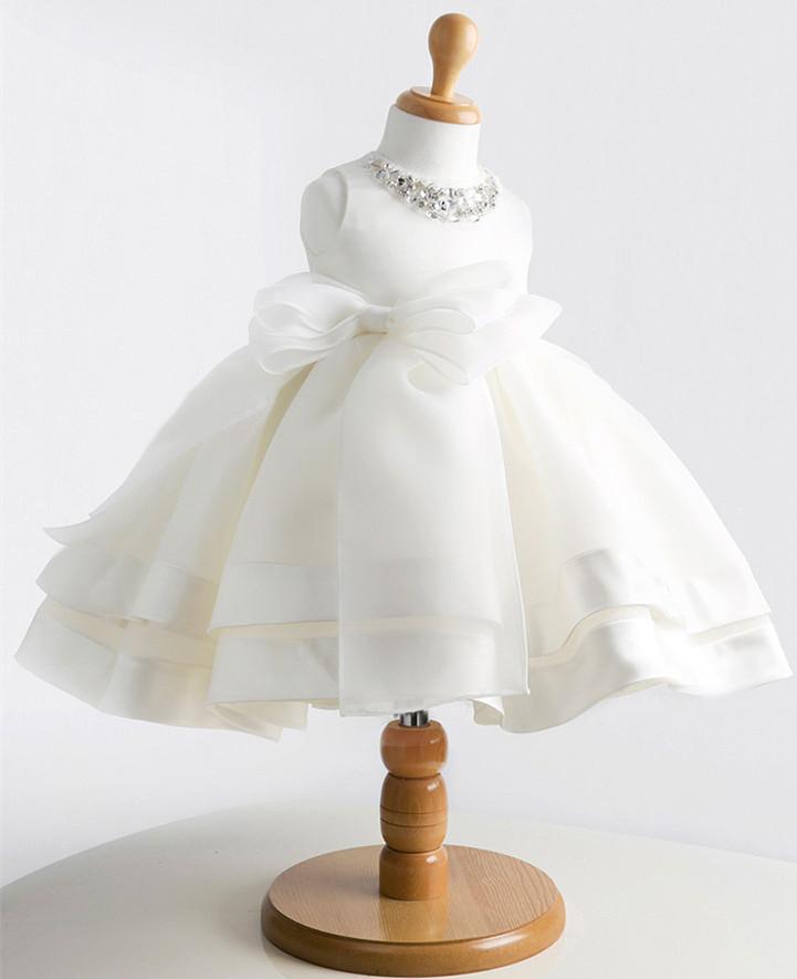 子どもドレス ピアノ発表会 ベビー服 お宮参り 結婚式ル プリンセンスドレス 撮影衣装 出産祝い クリアランスsale 期間限定 新生児赤ちゃん セレモニードレス ホワイト 白 ベビードレス 出色 フラワーガール ワンピース 子供ドレス