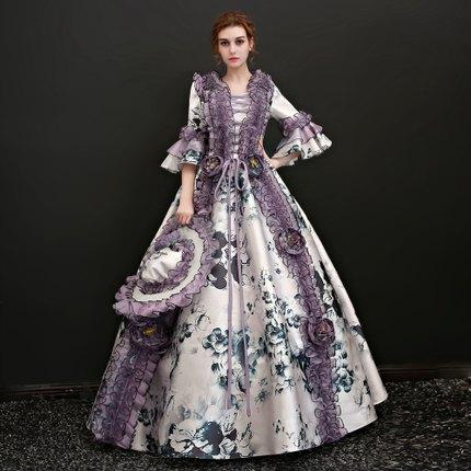 舞台衣装 ドレス カラードレス ロングドレス ステージ衣装 二次会 パーティー 編み上げタイプ お姫様
