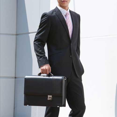 【納期約3日~5日】アーロン・アーヴィン アーロン サンリッチ ビジネスバッグ ビジネス ラージブリーフケース ブリーフ アリスの棘 メンズバッグ メンズ バッグ ブリーフケース