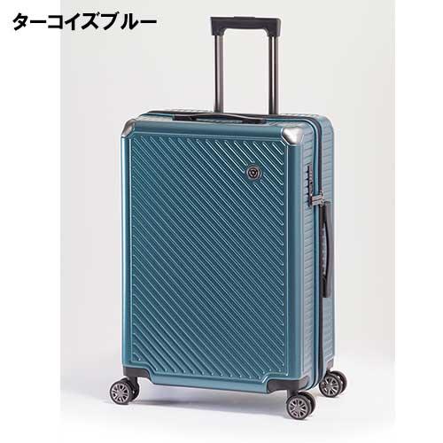 アジアラゲージ スーツケース 62リットル ALK-6020-24 エクスパンダブルシリーズ アジア・ラゲージ 拡張ファスナー A.L.I アルミコーナパッドフレーム ポリカーボネイト100% キャスター 55mm大型キャスター 旅 キャリーケース スーツケース ユニセックスバッグ 入学式 入社式