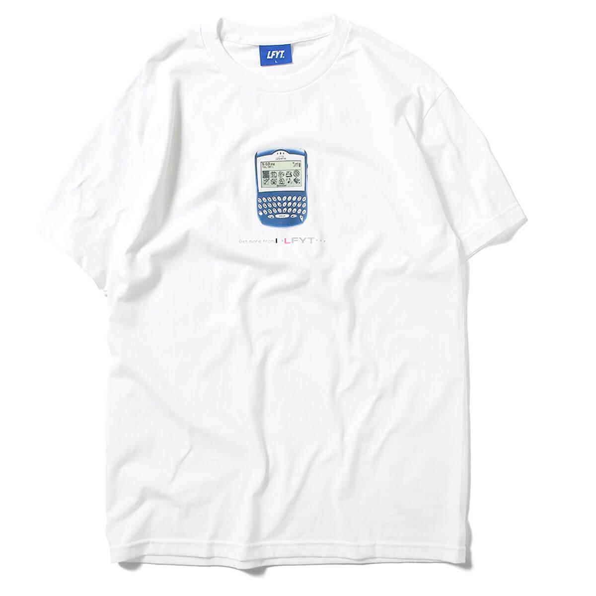 一万円以上で送料無料 正規品 ブランド 通販 あす楽 LFYT エルエフワイティー ◆高品質 FULL WHITE 国内在庫 LA210106 Tシャツ 半袖 ホワイト KEYBOARD TEE