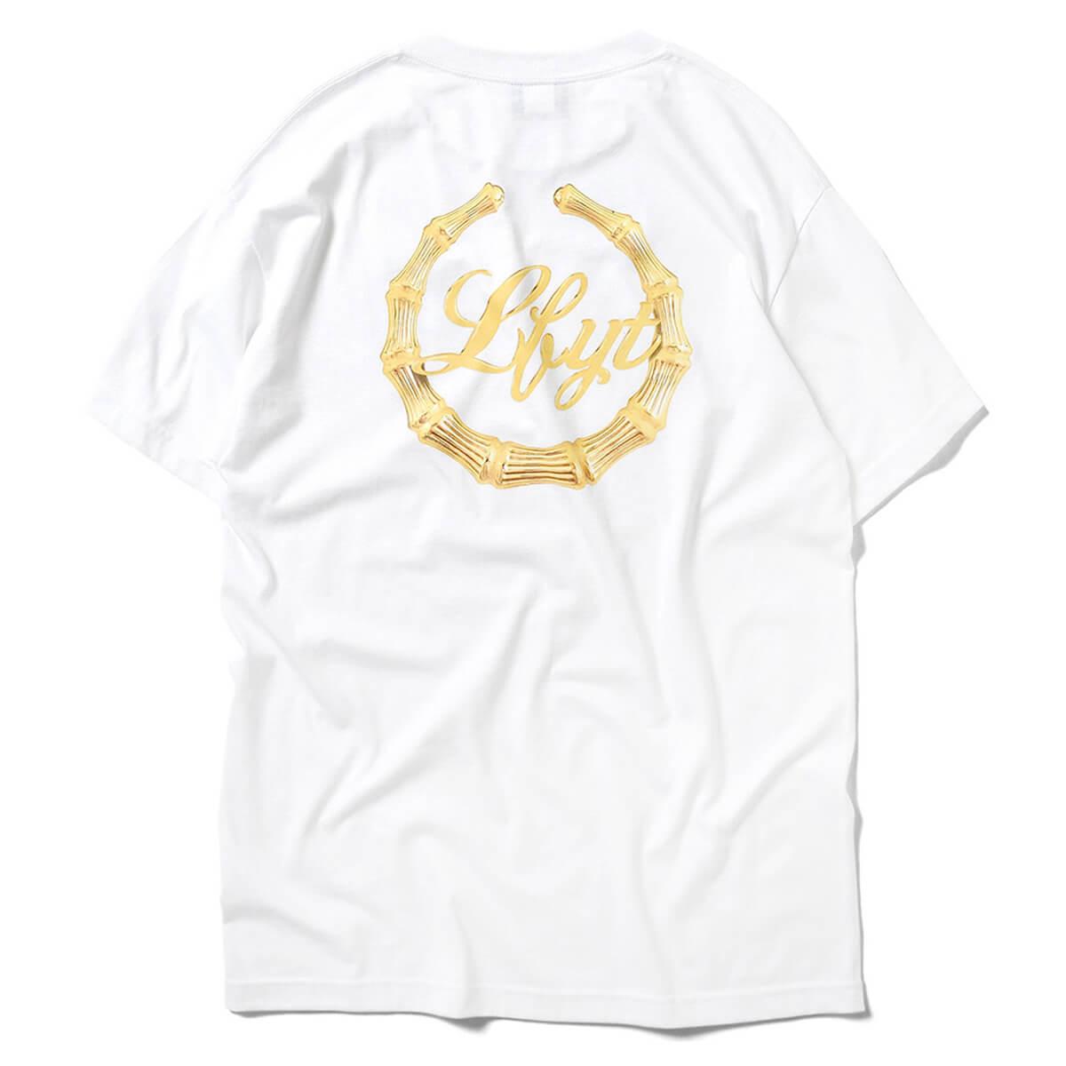 一万円以上で送料無料 正規品 ブランド 通販 あす楽 LFYT エルエフワイティー BAMBOO ホワイト WHITE 販売 ランキング総合1位 LA210107 TEE EARRINGS 半袖 Tシャツ