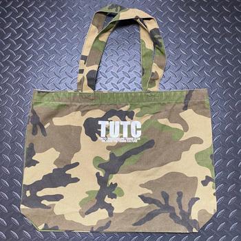 TUTC キャンバストート ウッドランドカモ 贈物 最安値に挑戦 TE-221