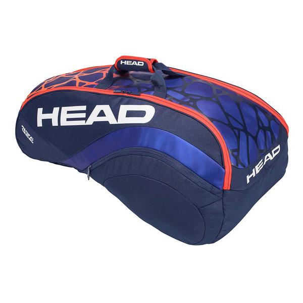 【2018年モデル】 ヘッド(HEAD) ラケットバッグ ラジカル 9R スーパーコンビ (Radical 9R Supercombi) 283358