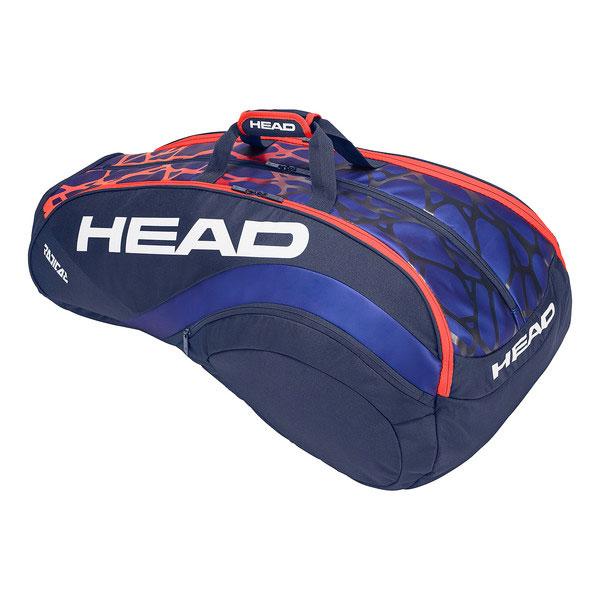 【2018年モデル】 ヘッド(HEAD) ラケットバッグ ラジカル 12R モンスターコンビ (Radical 12R Monstercombi) 283308