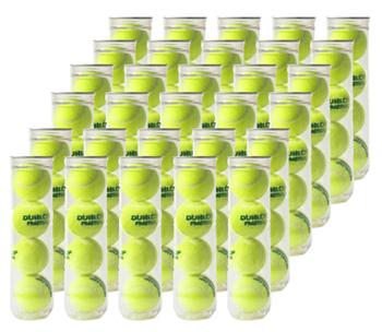 【箱売り】ダンロップ テニスボール プラクティス 4球入缶(1箱 30缶120球) 155円/球
