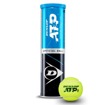 (人気激安) ジャパンオープン2019 ATP500 の試合球 ダンロップ 店 DUNLOP エーティーピー テニスボール ATP 4球入