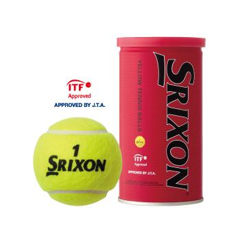 スリクソン(SRIXON) テニスボール 1箱30缶(60球入) SRXYL2DOZ
