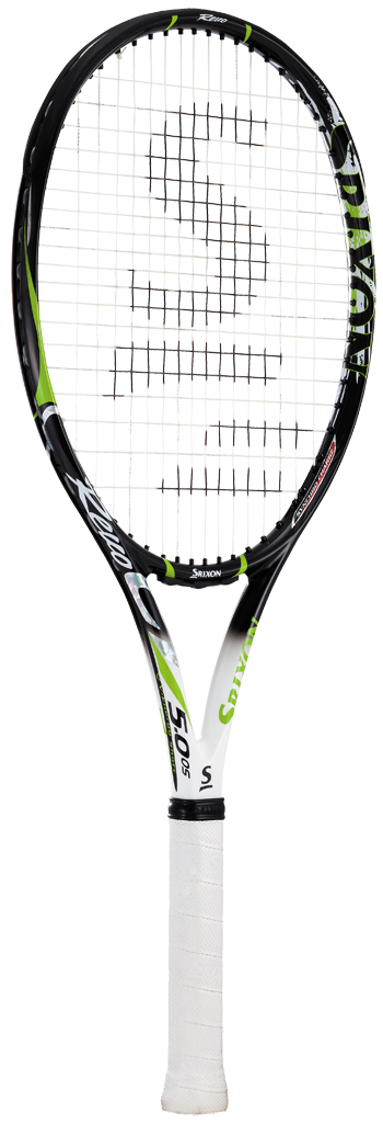 【SALE★在庫限り】テニスラケット スリクソン(SRIXON) REVO CV5.0 OS(レボ CV5.0 OS)SR21604