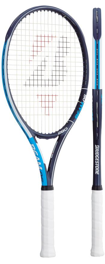 【発売開始】ブリヂストン(BRIDGESTONE) テニスラケット ビームオーエス(BEAM-OS)280青 BRABM2