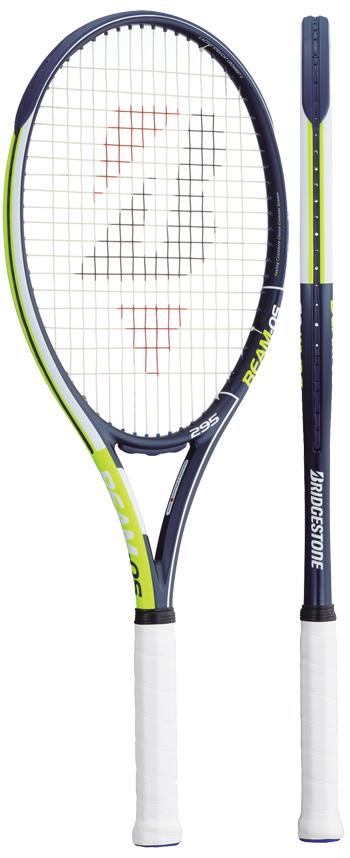 【発売開始】ブリヂストン(BRIDGESTONE) テニスラケット ビームオーエス(BEAM-OS)295 BRABM1