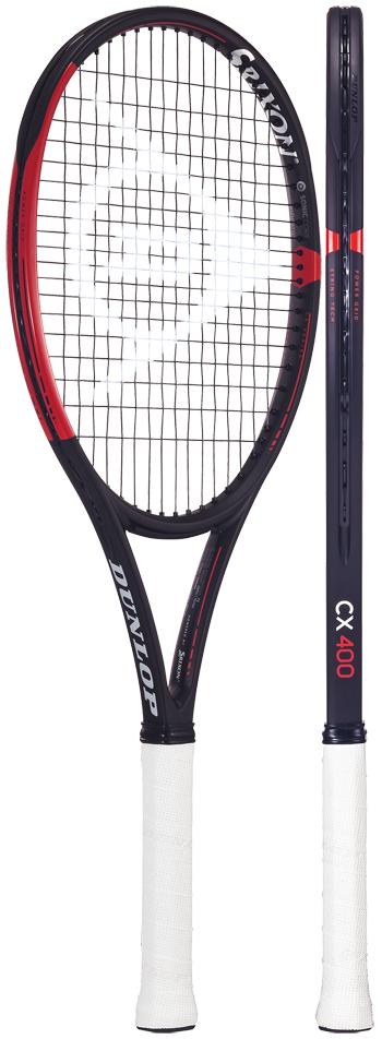 パワーとコントロールを両立したオールラウンドモデル 在庫限り テニスラケット ダンロップ DUNLOP スーパーセール期間限定 DS21905 セール価格 シーエックス400 ※スマートテニスセンサー対応 CX400