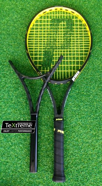 王子 (王子) 网球球拍游 98 XR-J (游 98XR-J) 7T40L * 及使用模型 * 传感器智能网球工作人员