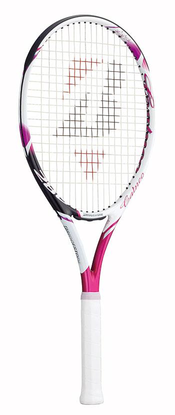 【SALE★】ブリヂストン(BRIDGESTONE) テニスラケット calneo 280 (カルネオ280) ホワイトマゼンダBRACT1