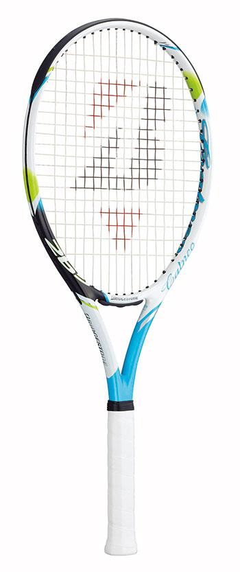ブリヂストン(BRIDGESTONE) テニスラケット calneo265 (カルネオ265) ターコイズBRACT4
