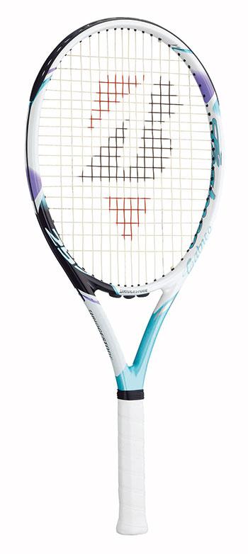 ブリヂストン(BRIDGESTONE) テニスラケット calneo 255 (カルネオ255) アクアグリーンBRACT6