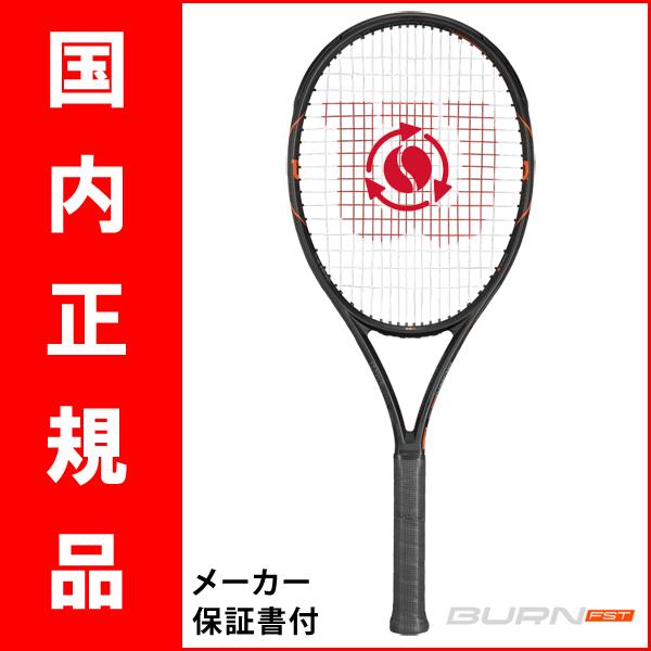 【ついに発売開始!国内正規品】テニスラケット ウィルソン(Wilson)バーン FST 99S(Burn FST 99S) SRT729210+ ※スマートテニスセンサー対応