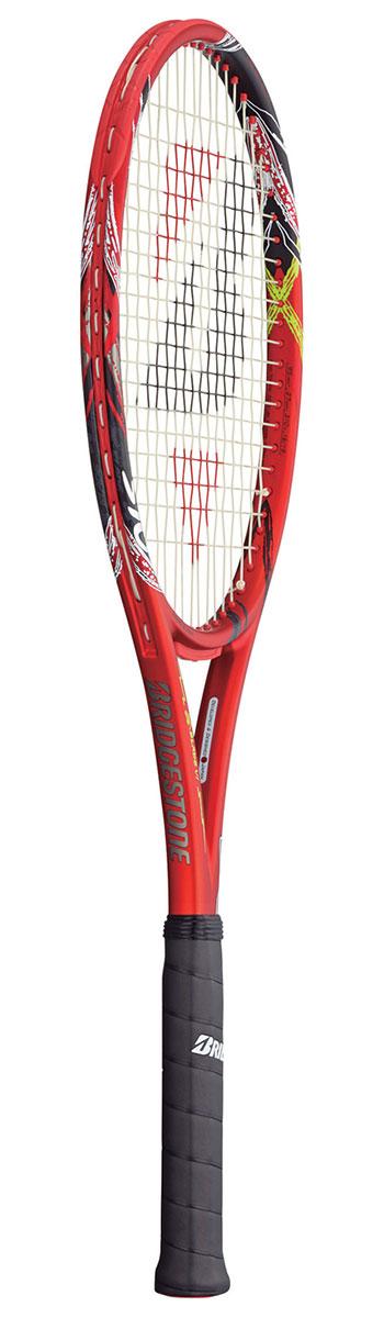 ブリヂストン(BRIDGESTONE) テニスラケット エックスブレード(X-BLADE)VI 310 BRAV61 ※動画インプレ有