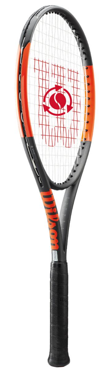 テニスラケット ウイルソン(Wilson)Burn 100ULS(バーン 100ULS)WRT734610+ ※スマートテニスセンサー対応