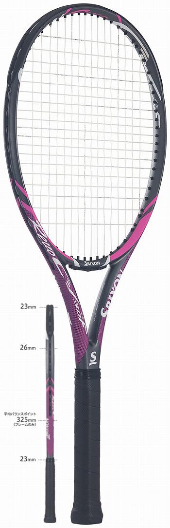 【SALE★在庫限り】テニスラケット スリクソン(SRIXON) REVO CV3.0 F-LS(レボ CV3.0 F-LS)SR21807 ※スマートテニスセンサー対応