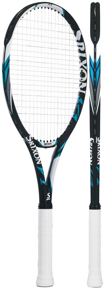 テニスラケット スリクソン(SRIXON) V1(ブイワン)SR2180WHBL ※スマートテニスセンサー対応