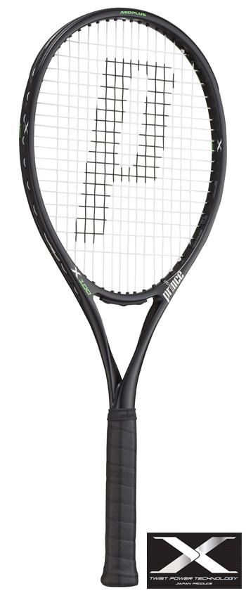Prince(プリンス)テニスラケット X 100(エックス100)7TJ079(右利き用)/7TJ080(左利き用) ※スマートテニスセンサー対応モデル