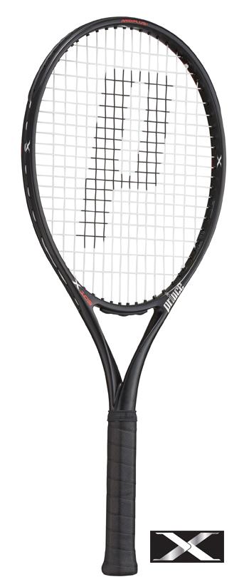 【G1は在庫有・G2は9月入荷】Prince(プリンス)テニスラケット X 105(エックス105)290g 7TJ081(右利き用)/7TJ082(左利き用) ※スマートテニスセンサー対応モデル