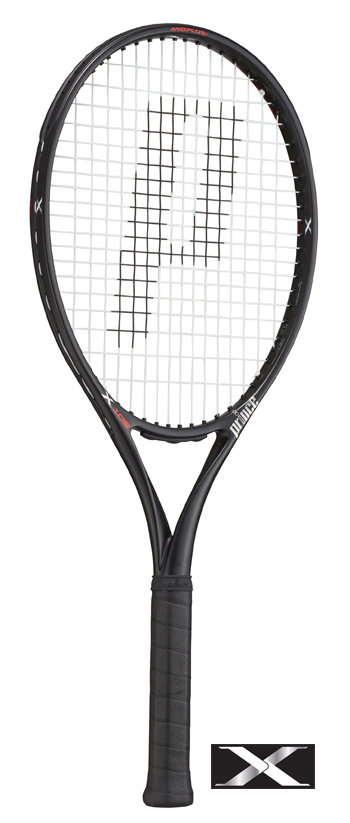 【G1は在庫有・G2は10月入荷】Prince(プリンス)テニスラケット X 105(エックス105)270g 7TJ083(右利き用)/7TJ084(左利き用) ※スマートテニスセンサー対応モデル