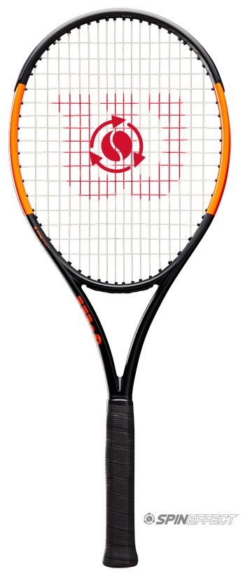 【2019年新色】テニスラケット ウイルソン(Wilson)Burn 100LS(バーン 100LS)WRT000211S+ ※スマートテニスセンサー対応