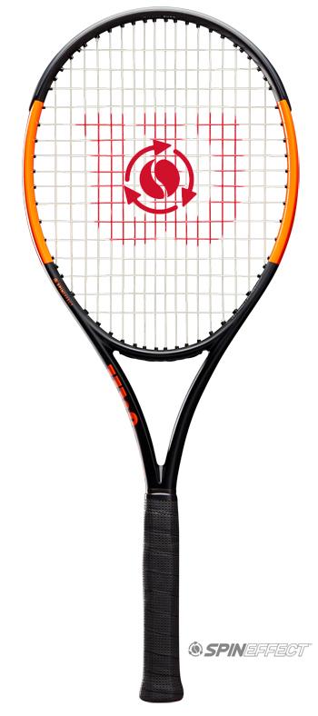 【2019年新色】テニスラケット ウイルソン(Wilson)Burn 100ULS(バーン 100ULS)WRT000311S+ ※スマートテニスセンサー対応