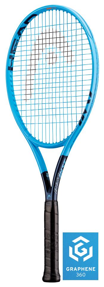 【日本先行販売!】テニスラケット ヘッド(HEAD) グラフィン 360 インスティンクトエムピーライト(Graphene 360 INSTINCT MP LITE) 230829 ※スマートテニスセンサー対応