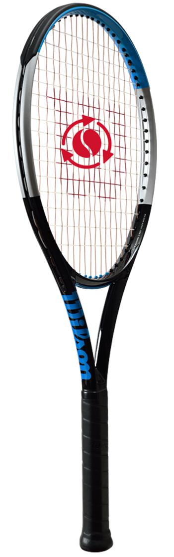 テニスラケット ウイルソン(Wilson) ウルトラ100 S V3.0(ULTRa100 S V3.0)WR043411U+