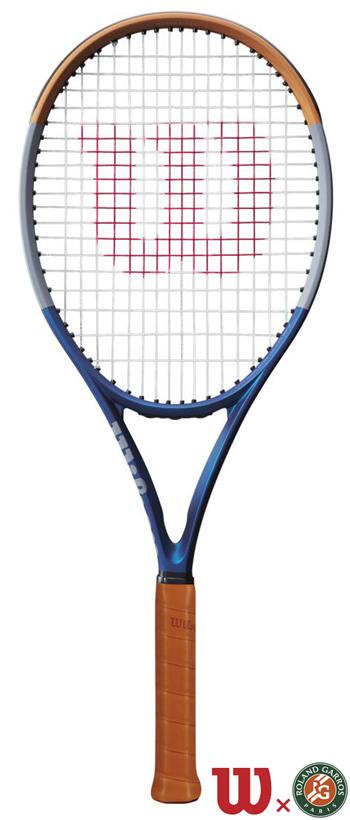 テニスラケット ウイルソン(Wilson)クラッシュ 100 ローランギャロス(CLASH 100 RG)WR045311U+