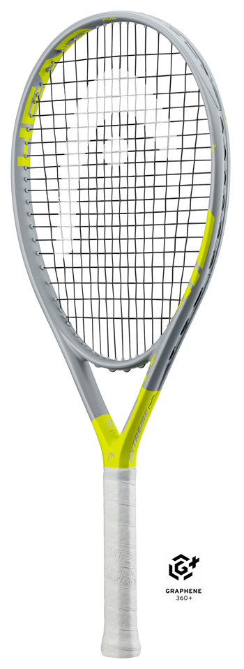 <title>全身スピンのG360+EXTREME テニスラケット ヘッド HEAD グラフィン360+ エクストリームパワー Graphene 新作 大人気 360+ EXTREME PWR 235360</title>