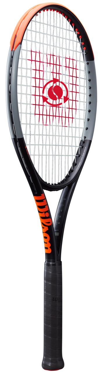 <title>回転×2バーン 予約品 テニスラケット ウイルソン Wilson BURN 100S 期間限定の激安セール V4.0 バーン WRT044811U+</title>