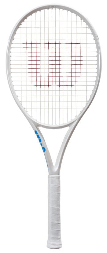 【日本限定】テニスラケット ウイルソン(Wilson) ウルトラ100L White in White (ULTRa100L White in White) ※SONYスマートテニスセンサー対応
