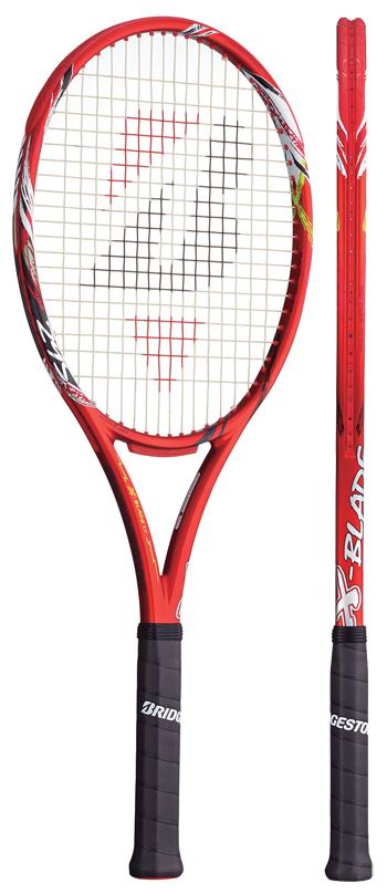 ブリヂストン(BRIDGESTONE) テニスラケット エックスブレード(X-BLADE)VI 295 BRAV63 ※動画インプレ有