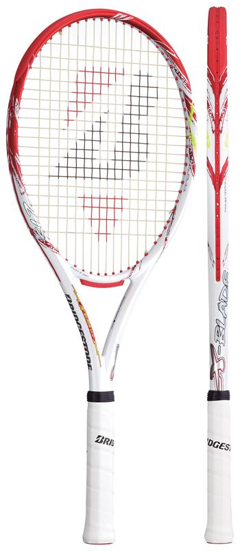 ブリヂストン(BRIDGESTONE) テニスラケット エックスブレード(X-BLADE)VI-R 275 BRAV66 ※動画インプレ有