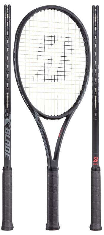 【発売開始★全黒ver.】ブリヂストン(BRIDGESTONE) テニスラケット エックスブレード ビーエックス(X-BLADE BX)305 BRABX6