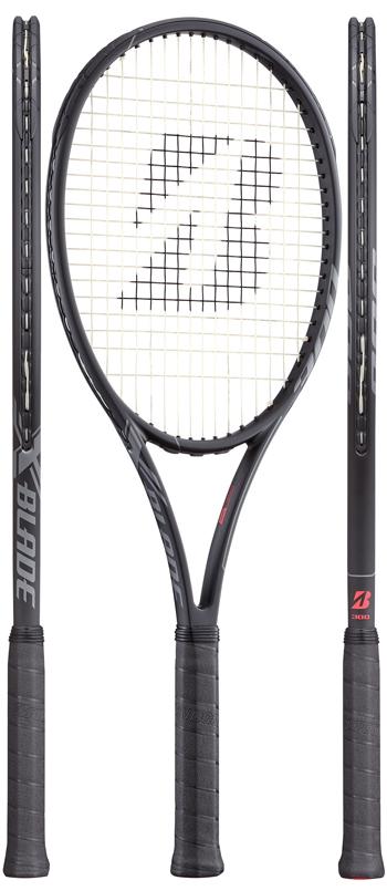 【発売開始★全黒ver.】ブリヂストン(BRIDGESTONE) テニスラケット エックスブレード ビーエックス(X-BLADE BX)300 BRABX7