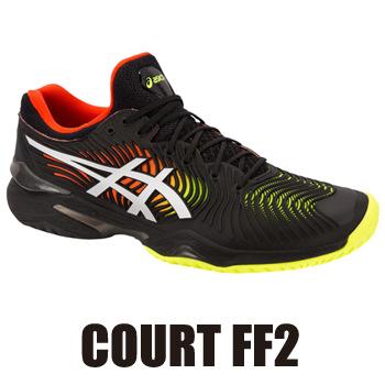 【4/上旬頃発売予定(予約品)】 アシックス(asics) テニスシューズ コートFF2(COURT FF2 Men's)1041A083-001 オールコート (2019.04発売)