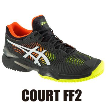 【4/上旬頃発売予定(予約品)】 アシックス(asics) テニスシューズ コートFF2(COURT FF2/OC Men's)1041A084-001 オムニクレーコート (2019.04発売)