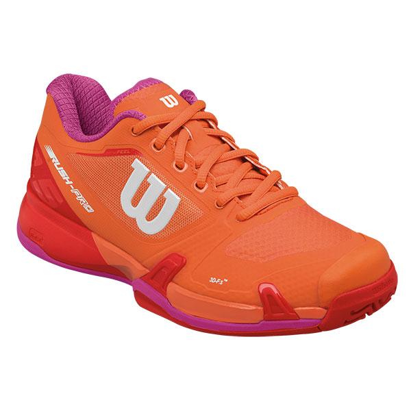 【SALE★在庫限り】Wilson(ウイルソン)テニスシューズ RUSH PRO 2.5 AC W(ラッシュプロ2.5 オールコート ウィメンズ) WRS322720