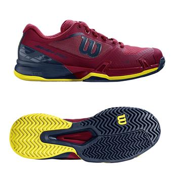 【SALE★在庫限り】Wilson(ウイルソン)テニスシューズ RUSH PRO 2.5 AC W(ラッシュプロ2.5 オールコート ウィメンズ) WRS323250U